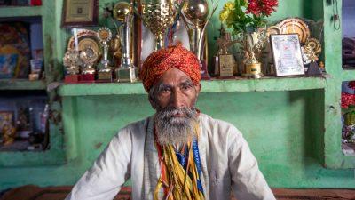 Image: Portrait of Dharam Singh