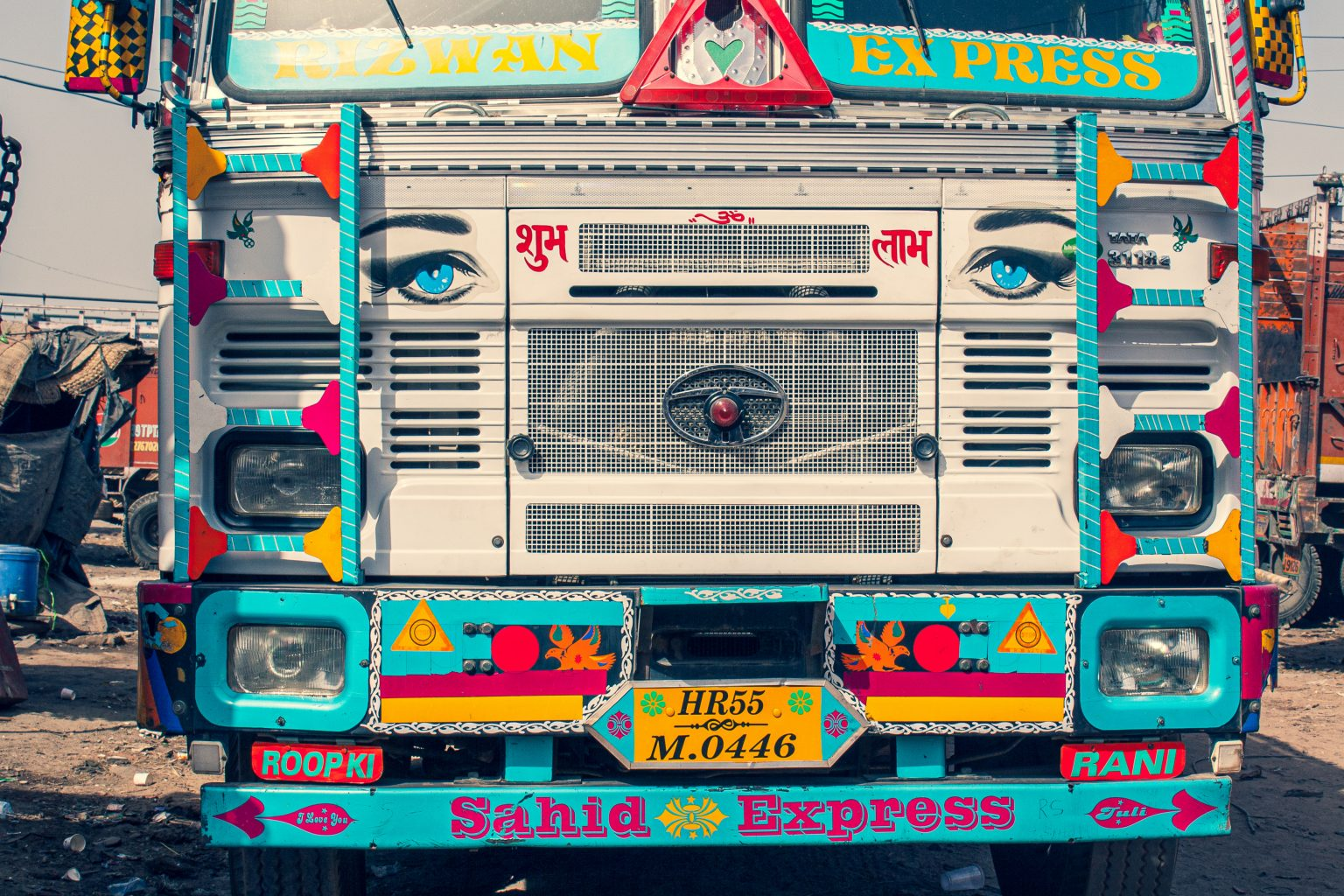 Image: Front of a truck
