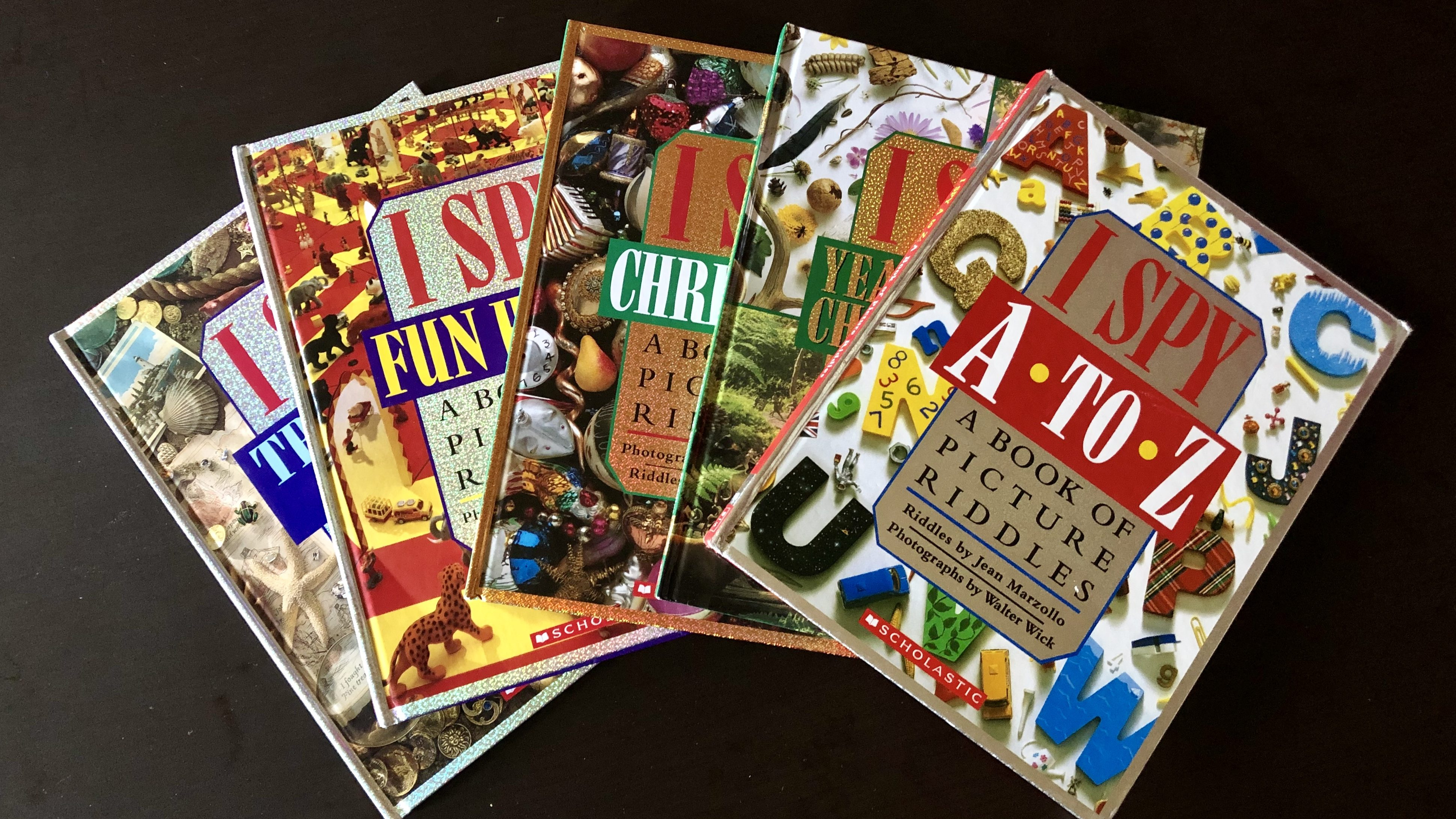 "Image: Selection of ""I SPY"" books"