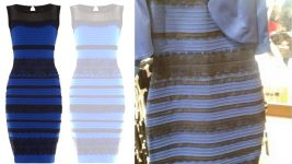 Image: a dress that appears to be white and gold to some and black and blue to others