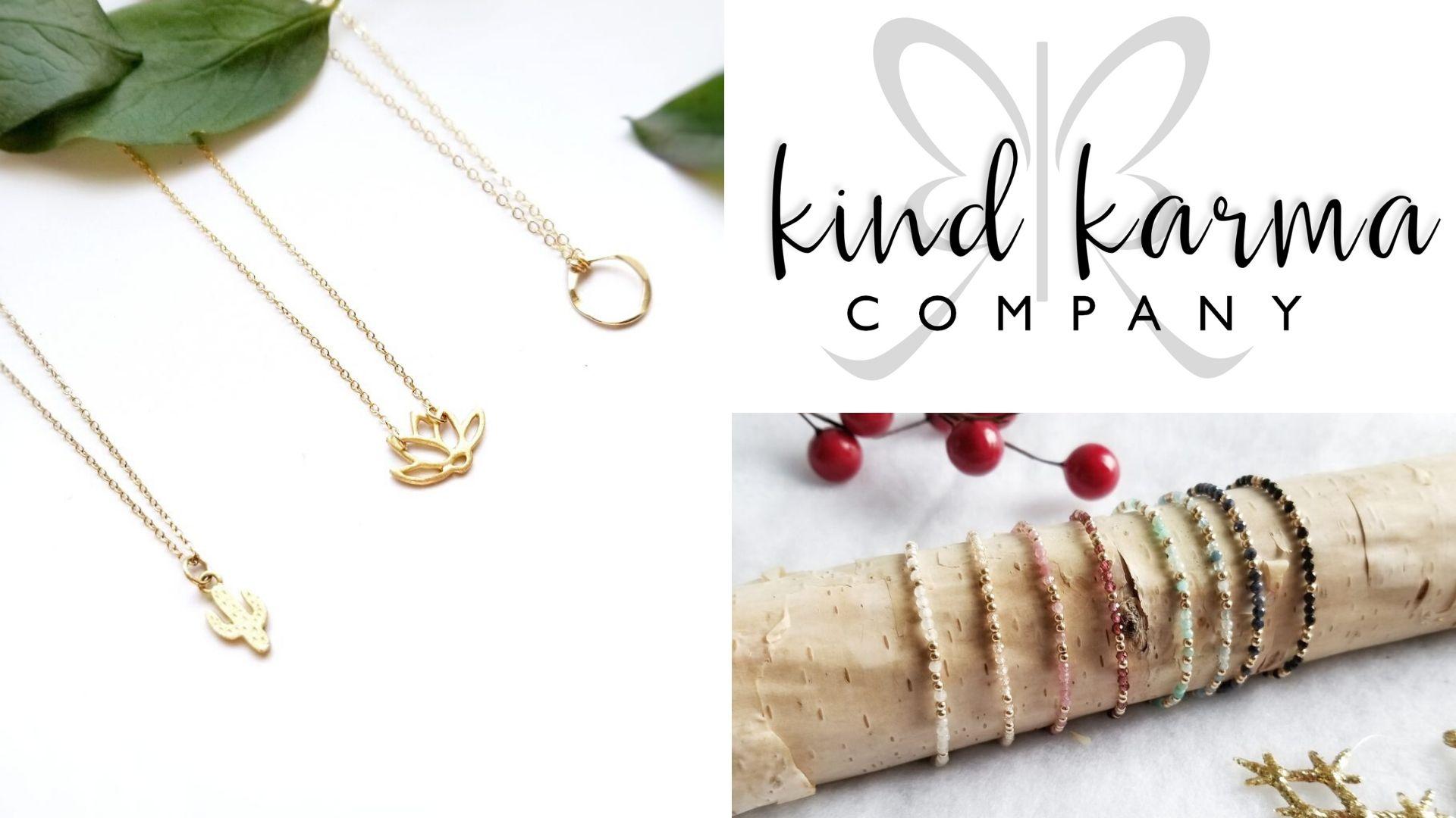 Image: Kind Karma Company jewelry