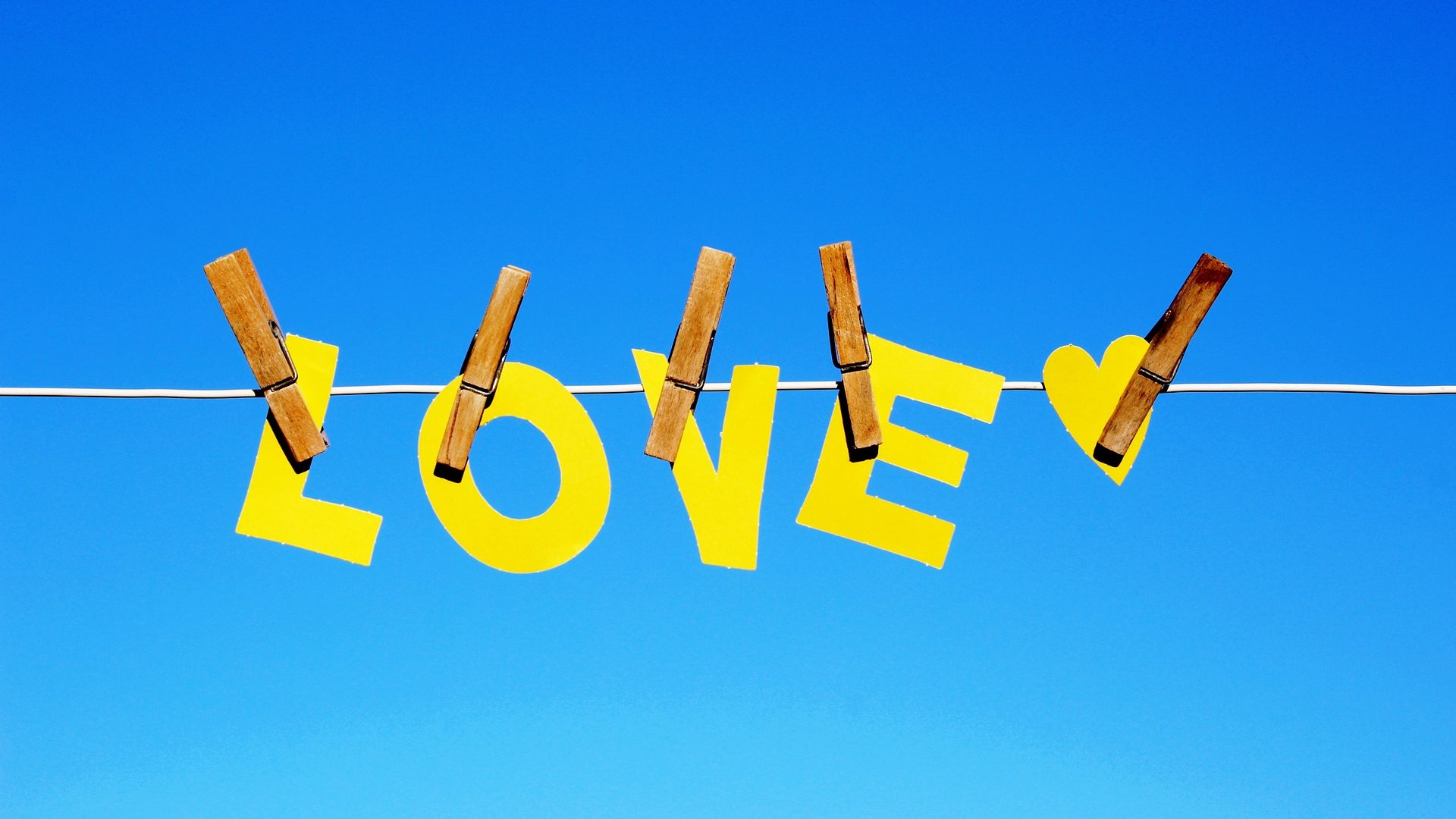 image: Paper Cutout of the word love