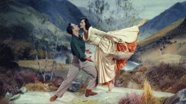 Image: Gene Kelly and Cyd Charisse dancing together in the film Brigadoon