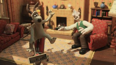 Image: Still shot of Wallace and Gromit