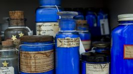 Image: Jars of Blue Pigments