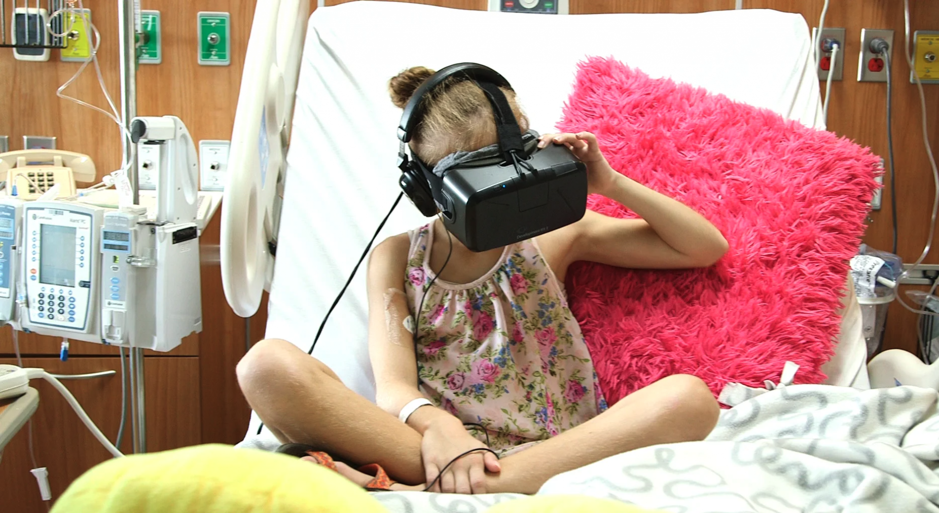 Virtual Reality is Being Used for Pain Management!