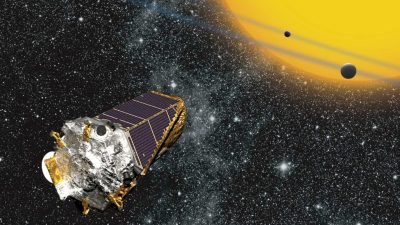 Image: Artist Representation of Kepler Space Telescope