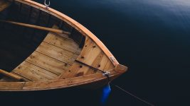 Image: Wooden Boat in the Water