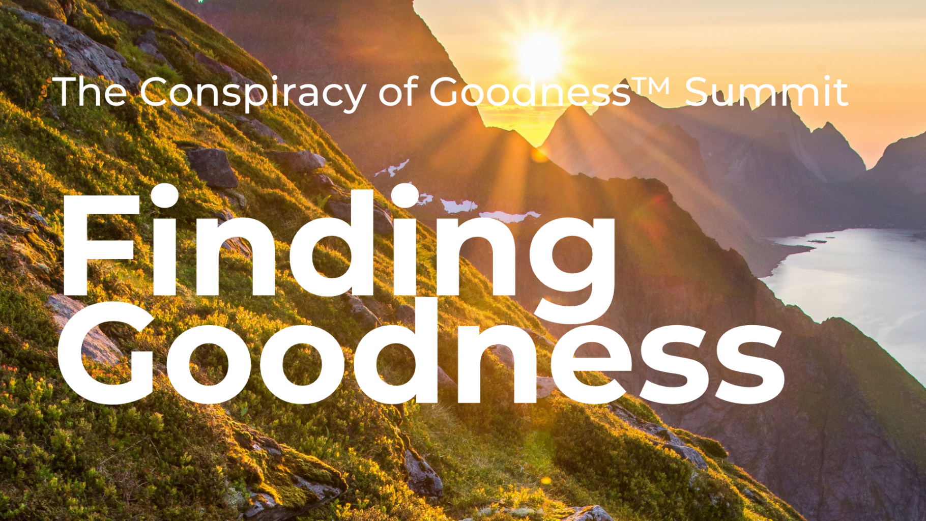 Image: Conspiracy of Goodness Summit