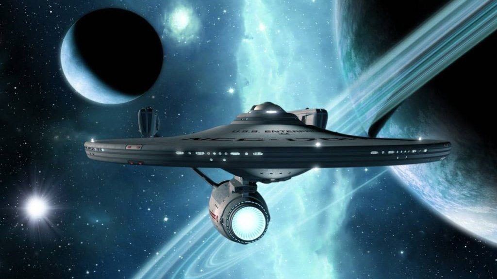 Image: Start Trek Ship in space