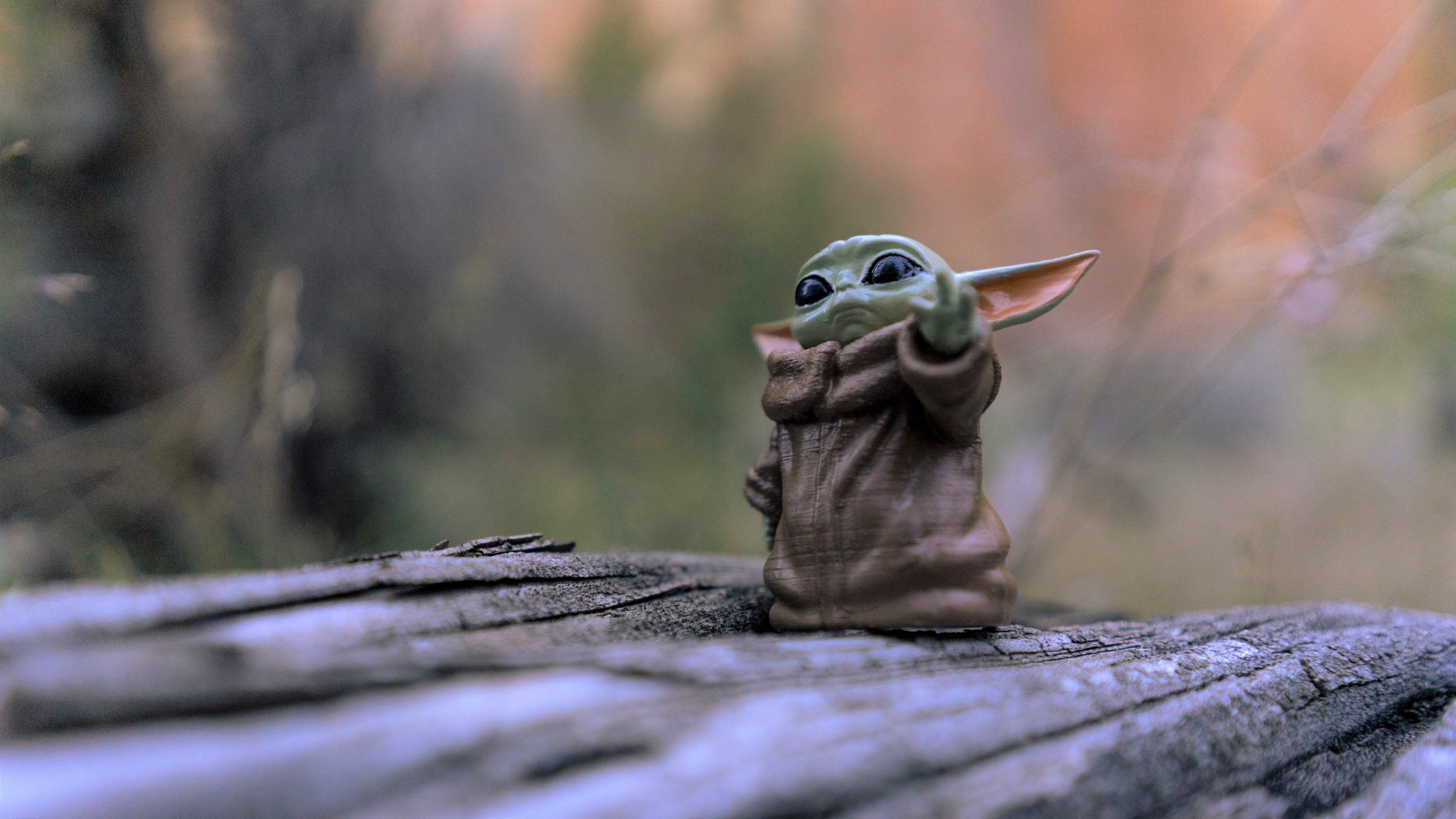 Image: Baby Yoda figurine