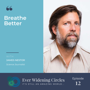 Image: James Nest Breathing Better Ever Widening Circles Podcast