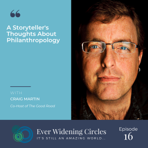 Image: Craig Martin Storytelling and Philanthropy