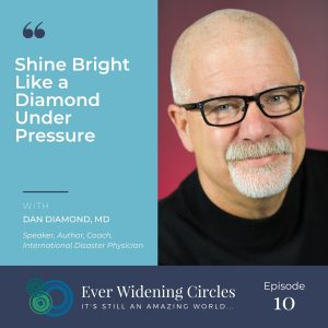 Image: Dan Diamond, MD Shine Bright Ever Widening Circles Podcast