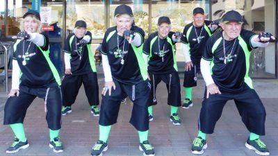 Image: Six member of Hip Op-eration posing