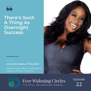 Image: Cheldin Barlatt Rumer Ever Widening Circles Podcast