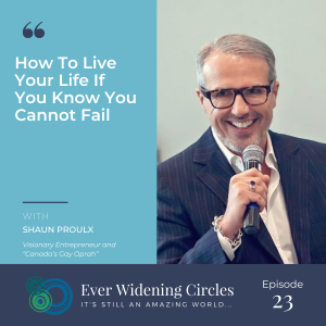 Image: Shaun Proulx Ever Widening Circles Podcast