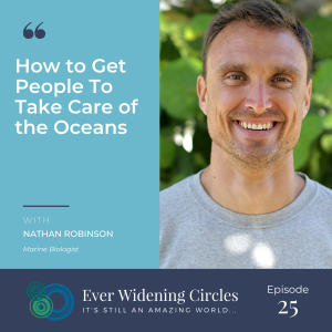 Image: Nathan Robinson Ever Widening Circles Podcast