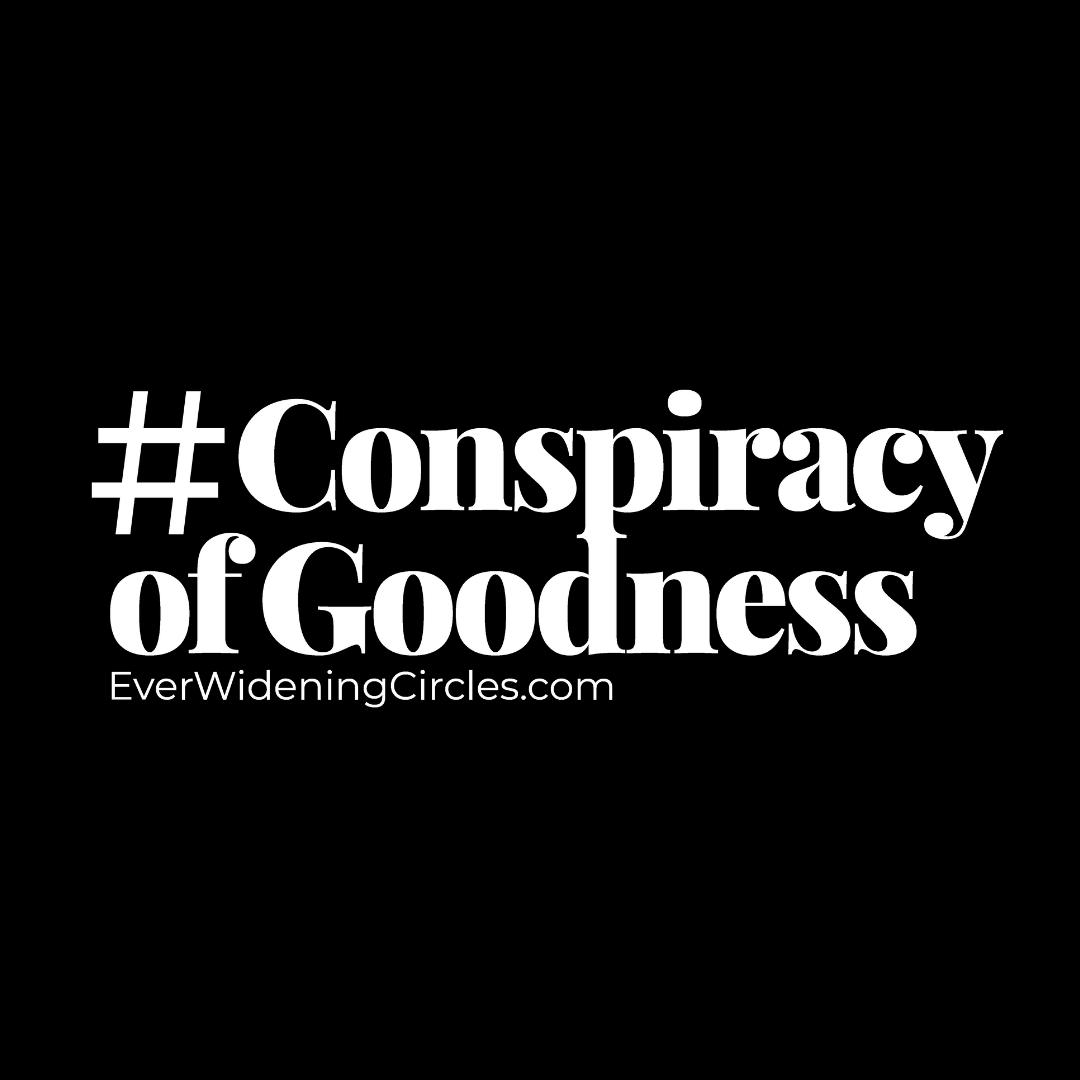 Image: #conspiracyofgoodness logo