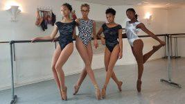 Image: Four Hiplet ballerinas