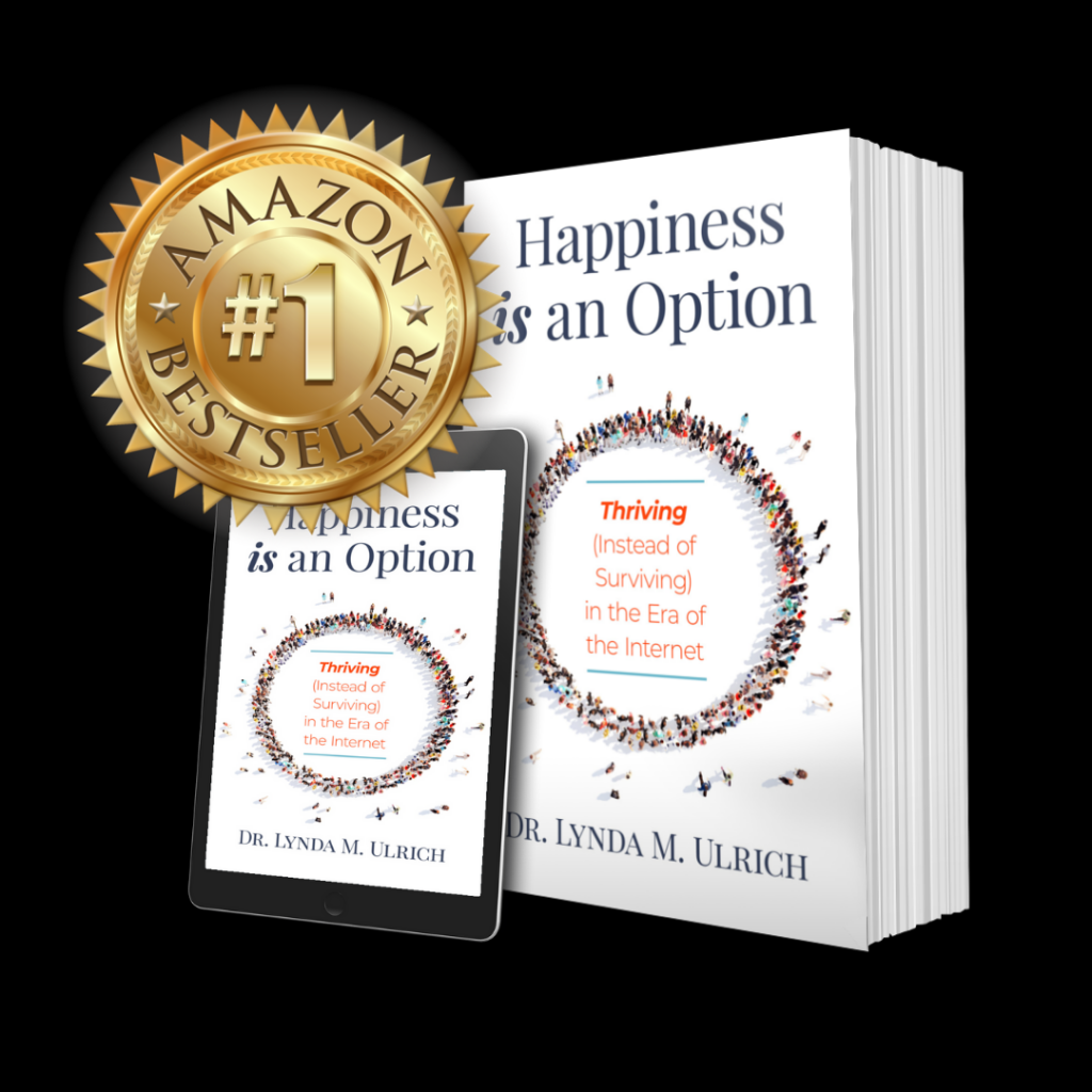 Image: Happiness is an Option Book covers