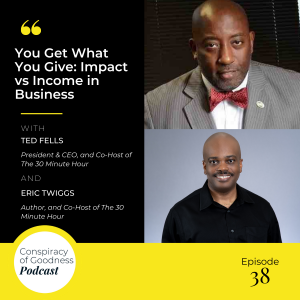 Image: Ted Fells and Eric Twiggs Ever Widening Circles Podcast