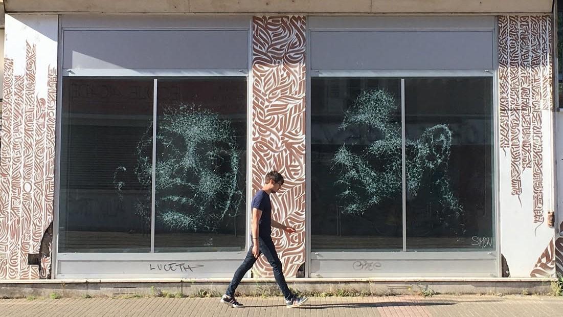 Simon Berger Glass Portraits