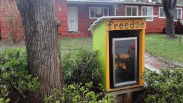 Image: A free food fridge!