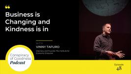 Image: Vinny Tafuro Conspiracy of Goodness Podcast