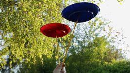 Image: spinning plates